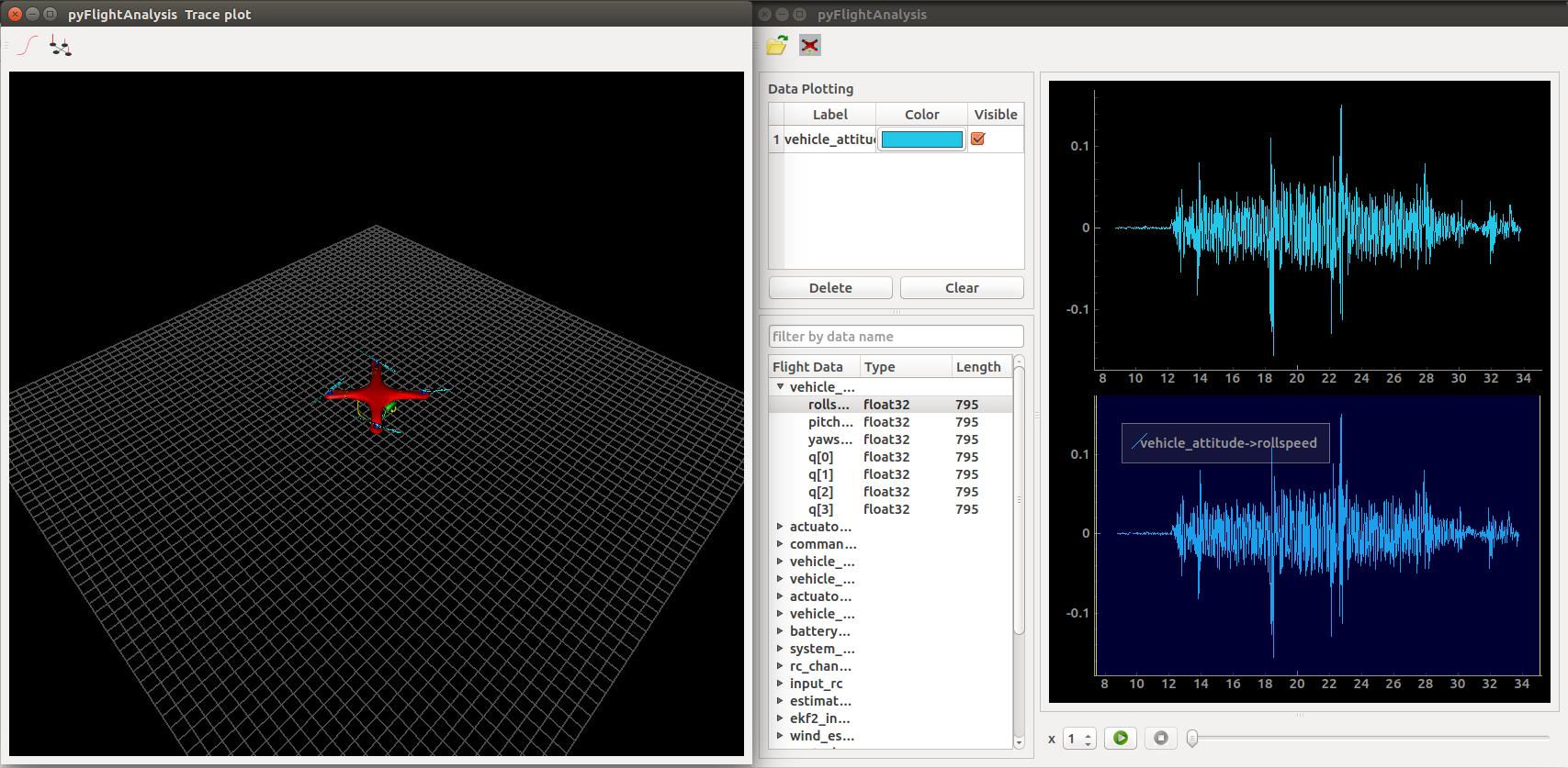Flight Log Analysis · PX4 v1 8 0 Developer Guide