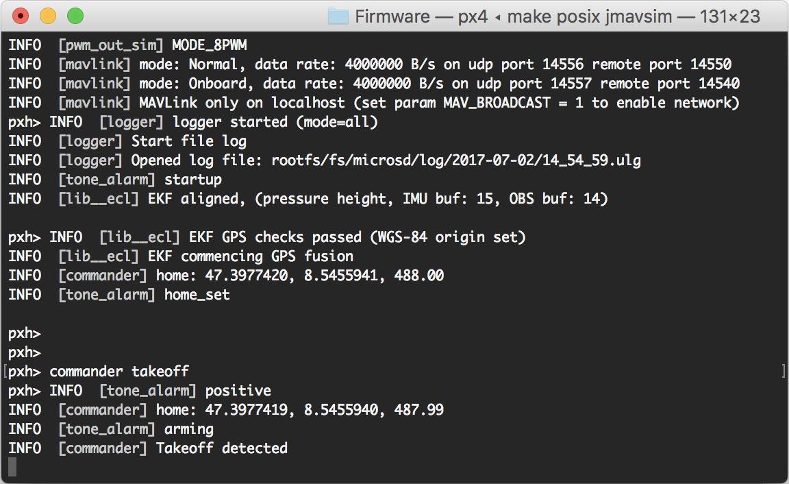 코드 빌드하기 · PX4 v1 9 0 Developer Guide